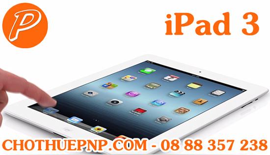 Ipad 3 được trang bị màn hình Retina cho độ hiển thị cao gấp 4 lần so với iPad 2