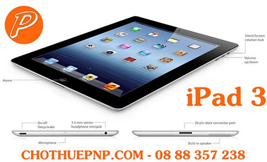 iPad 3có độ dày 9,4 mm, dày hơn so vớiiPad 2là 8,8 mm