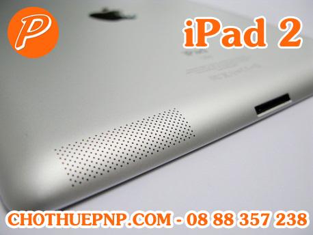 iPad 2 cóchất lượng âm thanh thừa hưởng từ những sản phẩm nổi tiếng như Ipod