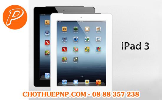 Cho Thuê iPad 3 Tại TP HCM