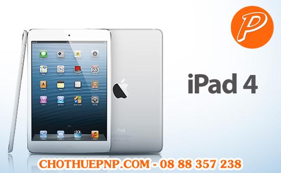 Cho Thuê iPad 4 Tại TPHCM