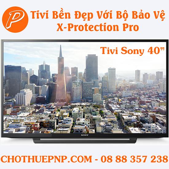 Tivi Sony Sử Dụng Công Nghệ X-Protection PRO