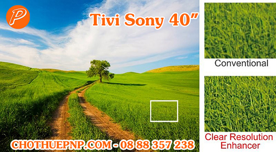 Tivi Sony 40 Inchs Tích Hợp Công Nghệ Clear Resolution Enhancer