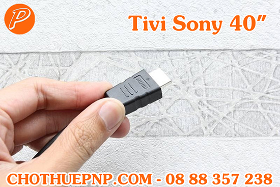 Thuê Tivi Sony40 INCHScó các cổng kết nối nhưHDMI