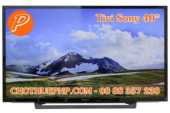 Cho Thuê Tivi 40 Inchs